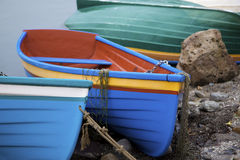 Colourful boats Stock Photography
