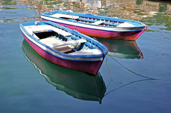Colourful boats Stock Photo