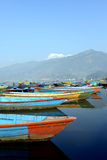 Colourful boats Royalty Free Stock Image