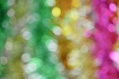 Colourful bokeh background stock photography