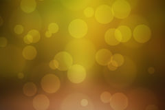 Colourful bokeh background. Made with autumn shades and circles Royalty Free Stock Images