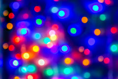 Colourful bokeh Royalty Free Stock Photography