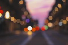 Colourful bokeh Royalty Free Stock Images