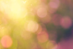 Colourful of boken light burry Stock Image
