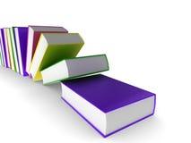 Colourful books Stock Image