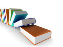 Colourful books Stock Image