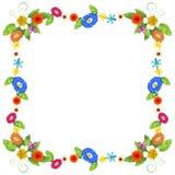 A colourful border design Royalty Free Stock Photos