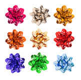 Colourful bows Royalty Free Stock Photos