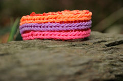 Colourful bracelet Royalty Free Stock Images