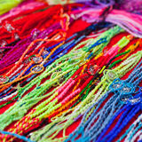 Colourful bracelets Royalty Free Stock Photos