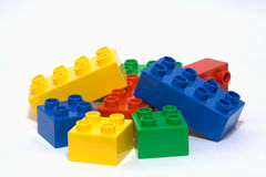 Colourful bricks Stock Image