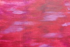 Colourful brush of stokes. Pink colors. Oil painting. Live colors and artwork. Real masterpiece. Watercolor picture. Colourful pat Royalty Free Stock Photography