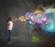 Free Colourful Bubble Royalty Free Stock Photos - 66538938