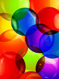 Colourful bubble close up background Stock Photo