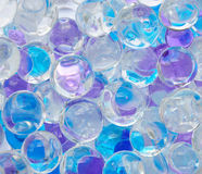 Colourful bubbles background stock image