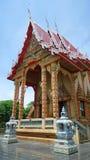 Colourful Buddhist chapel Stock Photos