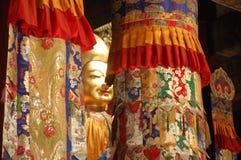 Colourful Buddhist elements Royalty Free Stock Photo