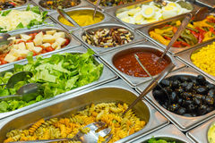 Colourful buffet Royalty Free Stock Images