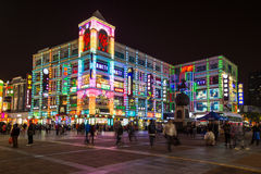 Colourful building in China Stock Photos