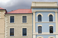 Colourful building facades, Hobart, Tasmania Royalty Free Stock Photo