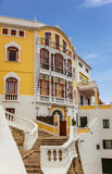 Colourful Building in mahon Stock Photos
