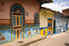 Colourful buildings Royalty Free Stock Image