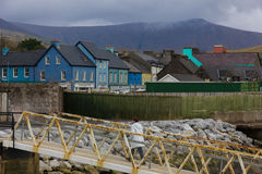 Colourful buildings. Dingle. Ireland Royalty Free Stock Photography