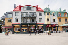 Colourful buildings of Mont Tremblant 3 Royalty Free Stock Photography