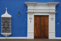 Colourful Buildings of Peru Royalty Free Stock Photo