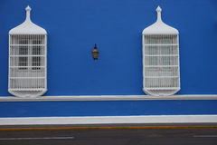 Colourful Buildings of Peru Royalty Free Stock Photos