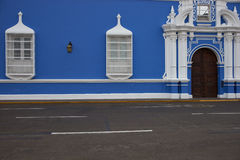 Colourful Buildings of Peru Stock Photos