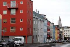 Reykjavik`s view stock image