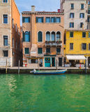 Colourful Buildings in Venice Royalty Free Stock Photos