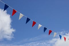 Colourful Bunting Stock Image
