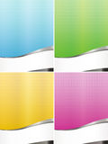 Colourful business backgrounds Royalty Free Stock Photography