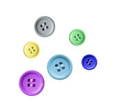 Colourful buttons Stock Photo