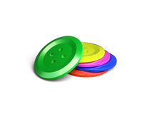 Colourful buttons Stock Photos