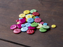 Colourful buttons Royalty Free Stock Photography
