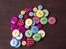 Colourful buttons Royalty Free Stock Photo