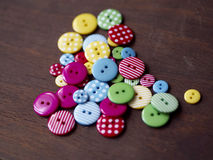 Colourful buttons Royalty Free Stock Image