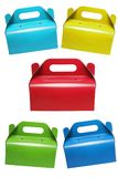 Colourful Cake Boxes Royalty Free Stock Image