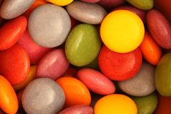 Colourful candies Stock Photo