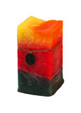 Colourful candle royalty free stock photos