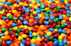 Colourful candy. Macro shot of colourful candy (cake decor Stock Photography