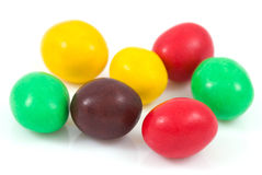 Colourful candy. Isolated on a white Stock Image