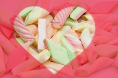Colourful candy background Stock Photos