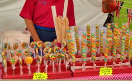 Colourful candy stall Royalty Free Stock Image