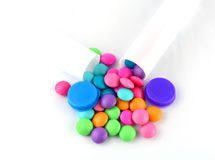 Colourful candy  Royalty Free Stock Image