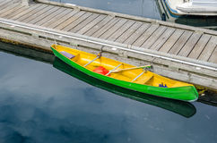 Colourful Canoe Royalty Free Stock Photos