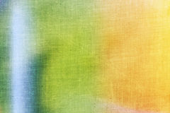 Colourful canvas texture Stock Image
